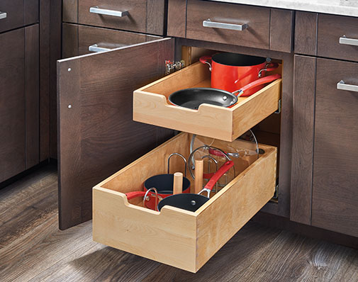 base cabinet drawer solutions