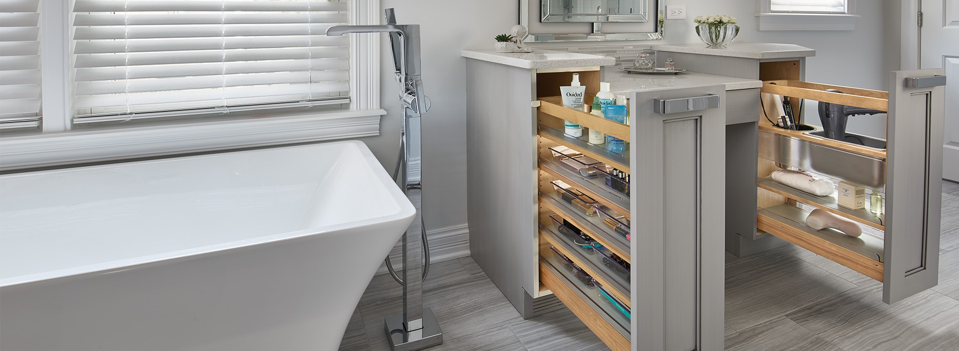 image of bathroom and vanity accessory solutions