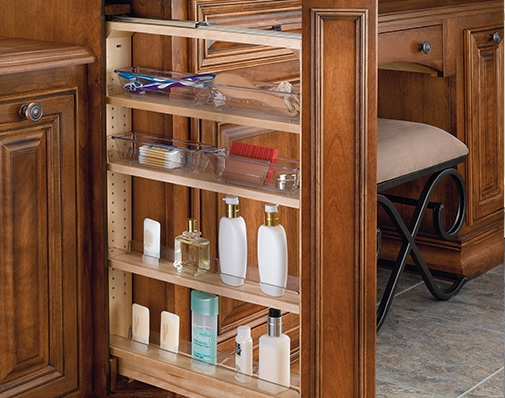 bathroom and vanity cabinet filler solutions