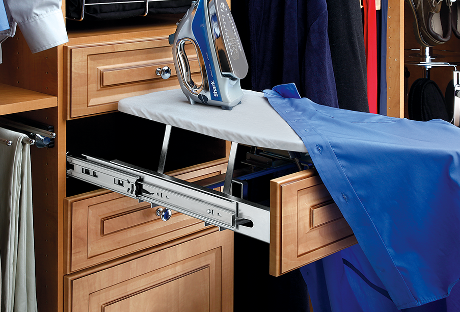 image of a closet slide travel product