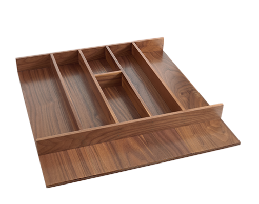 cabinet drawer walnut finish