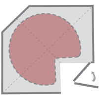 diagram of a lazy susan kidney solution