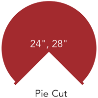 diagram of a lazy susan angled cabinet pie cut spec