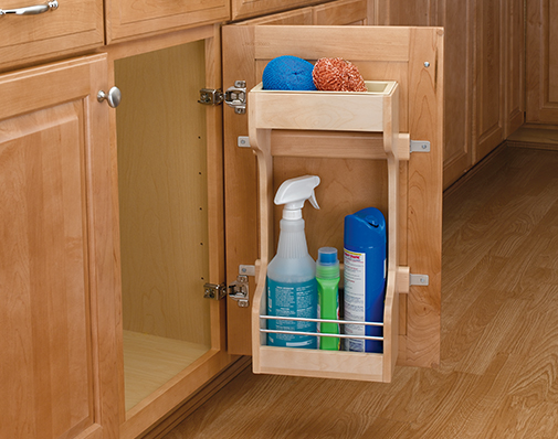 sink door storage solutions