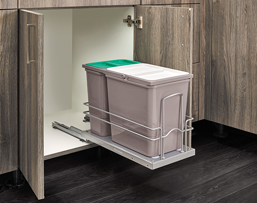 sink waste container solutions