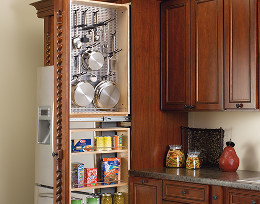 tall or pantry cabinet filler solutions