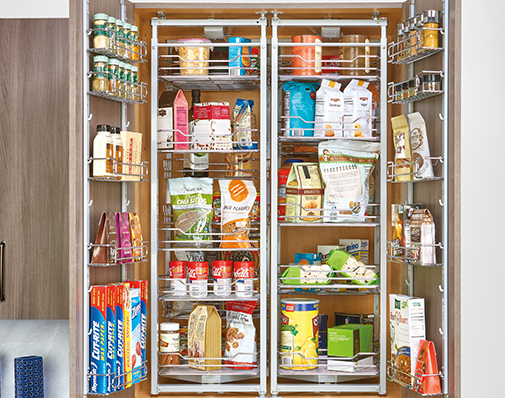 tall or pantry cabinet roll out solutions