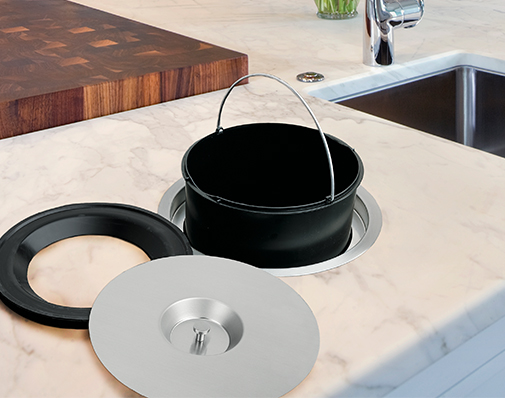 image of a solution that mounts in a counter top
