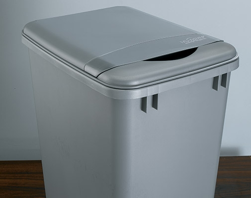 Accessories for waste cabinet solutions