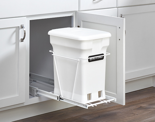 Wire finish waste container solutions