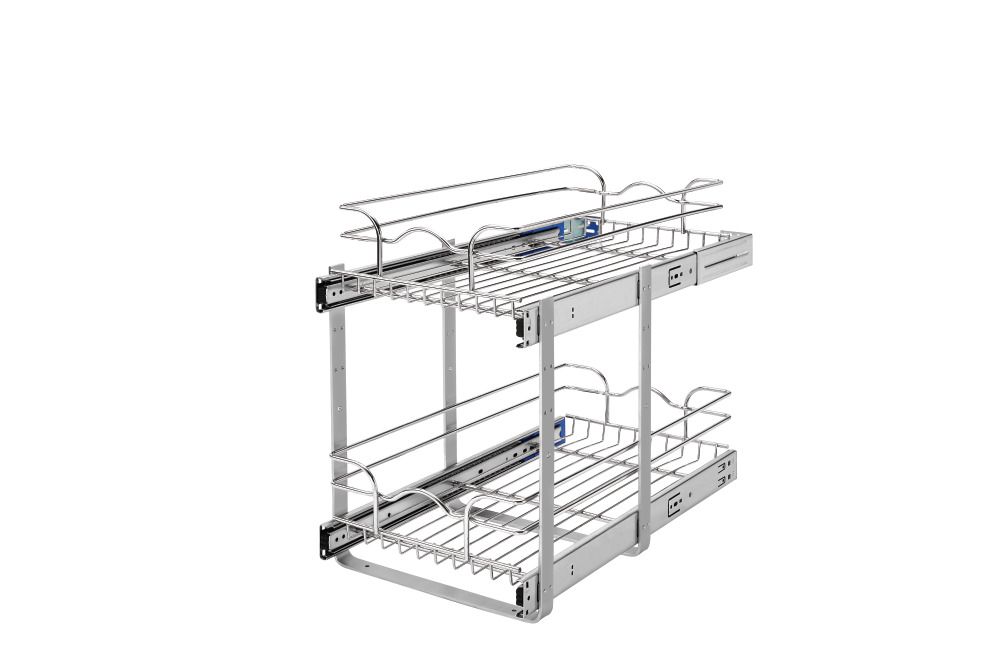 Chrome Wire Pullout Shelves