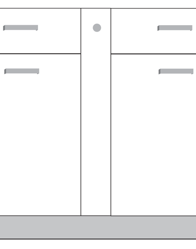 diagram of a filler cabinet