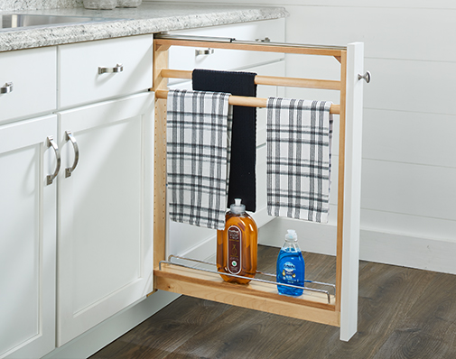 image of solutions that mount between cabinets