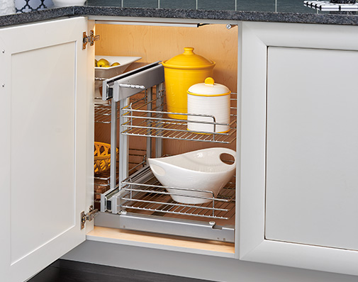 image of solutions that mount to the cabinet floor
