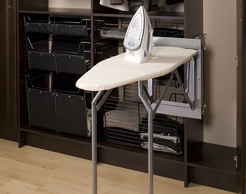 closet ironing board solutions