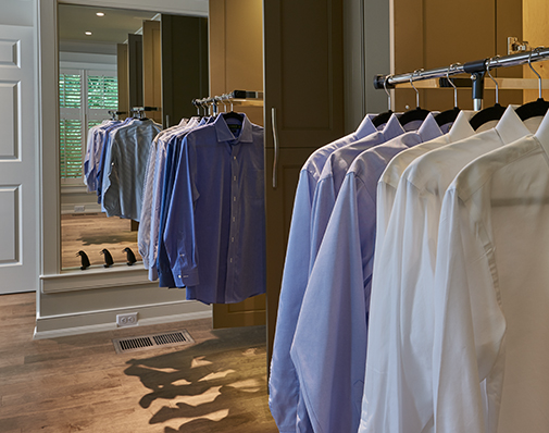 closet pull down solutions