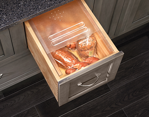 cabinet drawer bread cover solutions