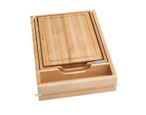 cabinet drawer maple finish
