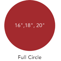 diagram of a lazy susan full circle spec
