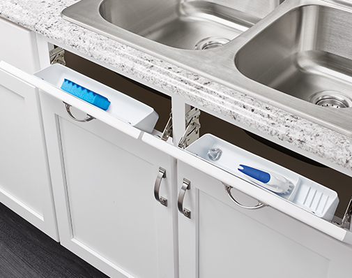 sink tip out tray solutions
